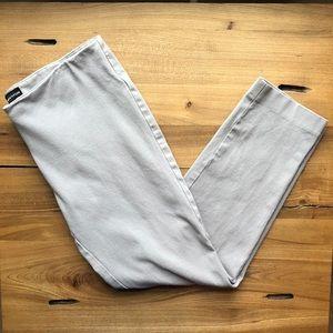 Lord and Taylor Grey Slim Dress Pant